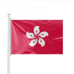 Drapeau pays HONG KONG