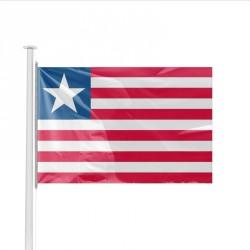 Drapeau pays LIBERIA