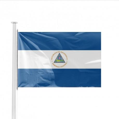 Drapeau pays NICARAGUA