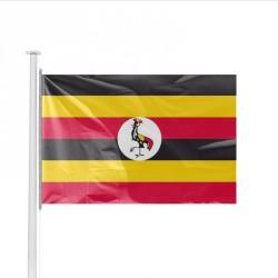 Drapeau pays OUGANDA