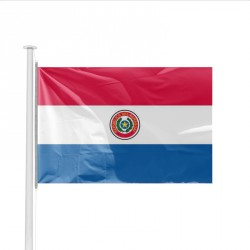 Drapeau pays PARAGUAY