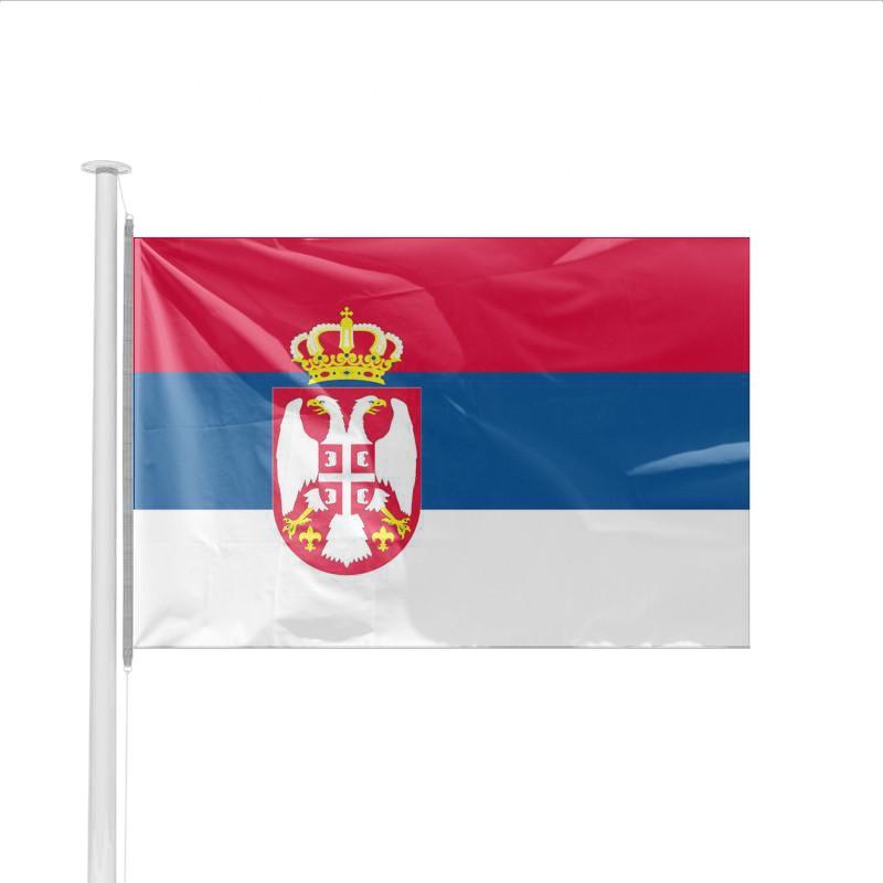 drapeau pays serbie achat en ligne de pavillon