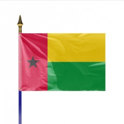 Drapeau pays GUINEE BISSAU