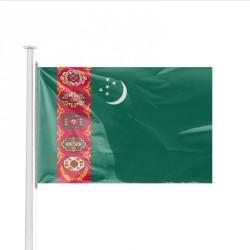 Pavillon pays TURKMENISTAN