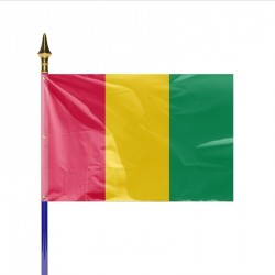 Drapeau pays GUINEE