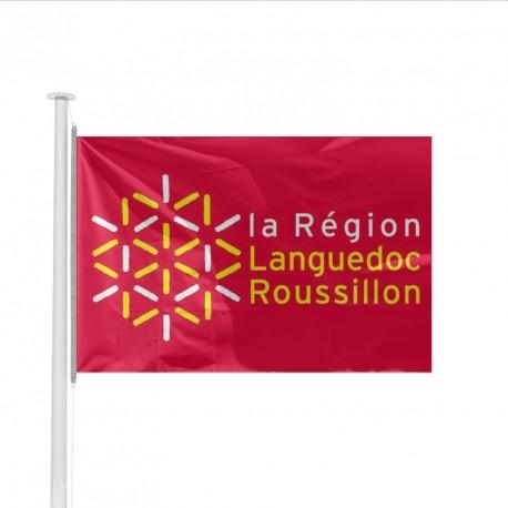 Pavillon Région LANGUEDOC ROUSSILLON