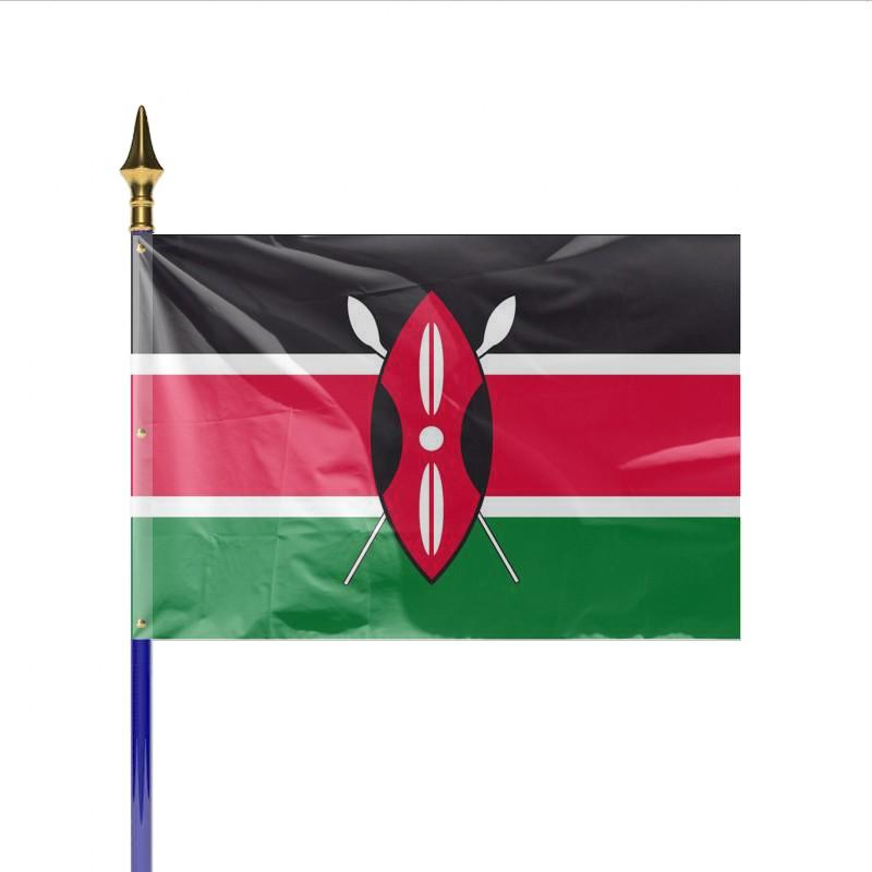 Drapeau pays kenya achat en ligne - Couleur du monde kenya ...