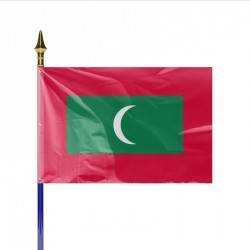 Drapeau pays MALDIVES