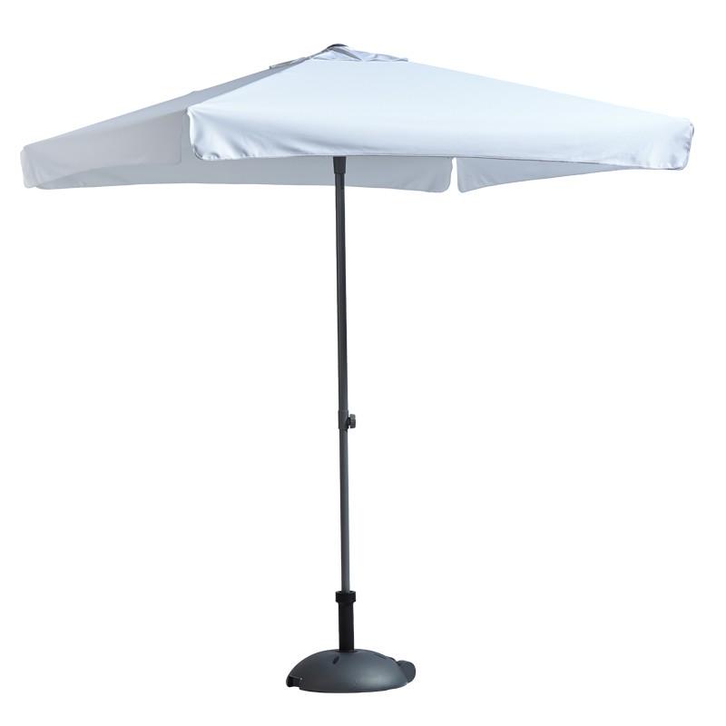 parasol carr personnalis 200 cm fabrication parasols. Black Bedroom Furniture Sets. Home Design Ideas