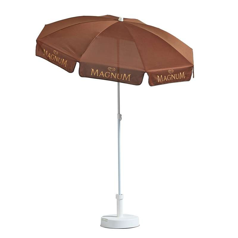 Parasol publicitaire rond diamètre 180cm