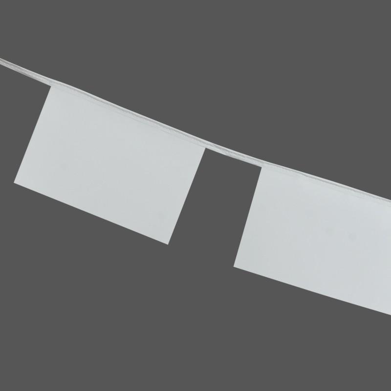 Guirlande personnalisée avec fanions en polyethylène