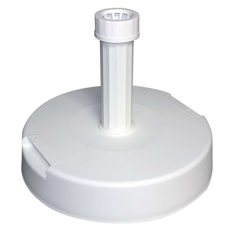 pied b ton 20kg gain de plastique pour parasol publicitaire faber france. Black Bedroom Furniture Sets. Home Design Ideas