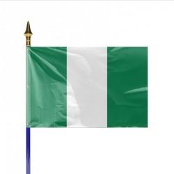 Drapeau pays NIGERIA