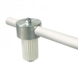 Pommeau rotatif et potence pour mât aluminium