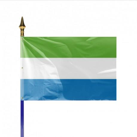 Drapeau pays SIERRA LEONE