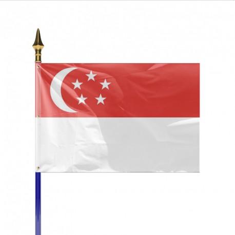 Drapeau pays SINGAPOUR