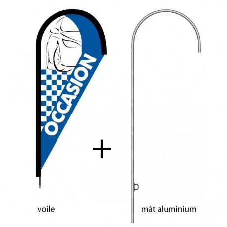 Kit oriflamme Leafline OCCASION modèle maxi