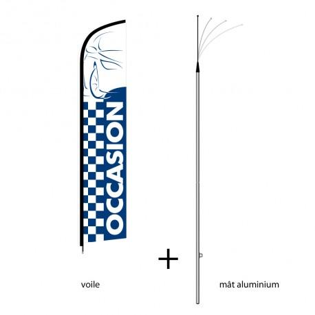 Kit oriflamme Beachline OCCASION modèle standard