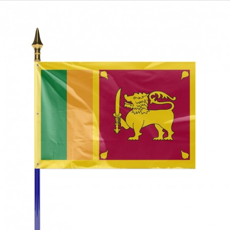 Drapeau pays SRI LANKA