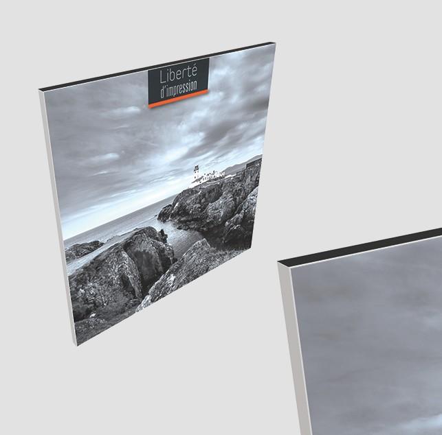 Cadre d'exposition recto/verso épaisseur 44mm