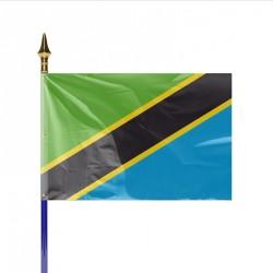 Drapeau pays TANZANIE