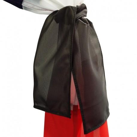 Bandeau noir 12x75cm
