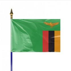 Drapeau pays ZAMBIE