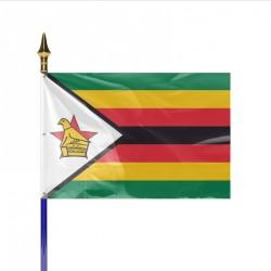 Drapeau pays ZIMBABWE