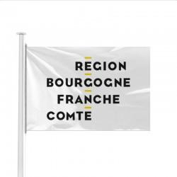 Drapeau Région Bourgogne Franche Comté