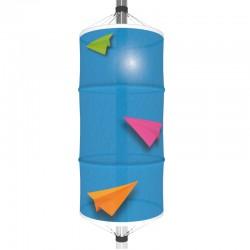 Tubing personnalisé imprimé sur tissu pour candélabre