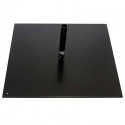 Platine carrée 37,5x37,5 cm pour mât Primo®