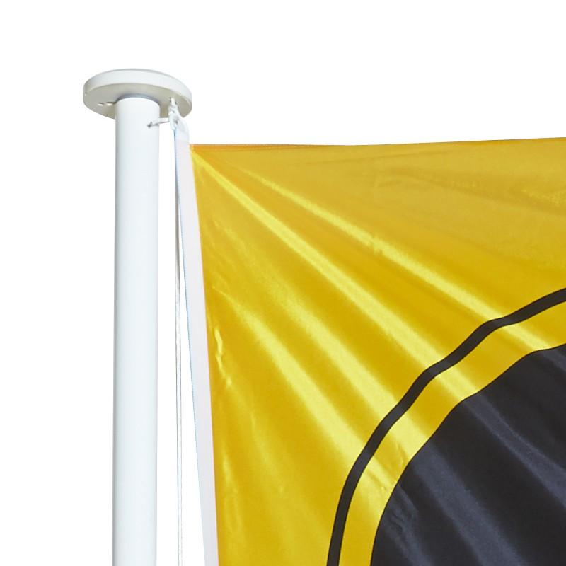Drapeau personnalisé vertical pour mât standard (sans potence)