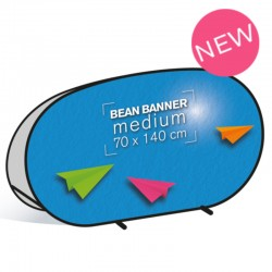 Bean Banner medium 70x140cm