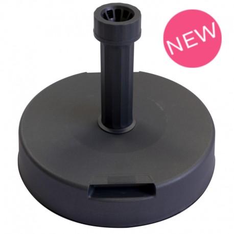 pied b ton gris 20kg pour parasol publicitaire faber france. Black Bedroom Furniture Sets. Home Design Ideas