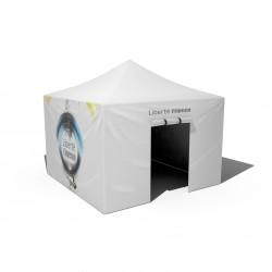 Tente pliante PRO 3x3m pour utilisation intensive
