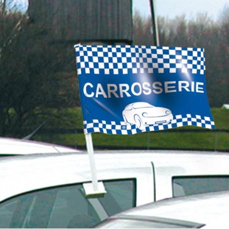 Drapeau de voiture CARROSSERIE Format 30/45 cm