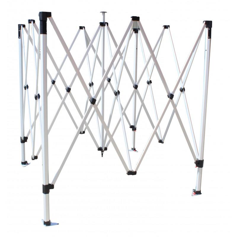 Tente pliante LIGHT 3x4.5m pour utilisation occasionnelle ou régulière