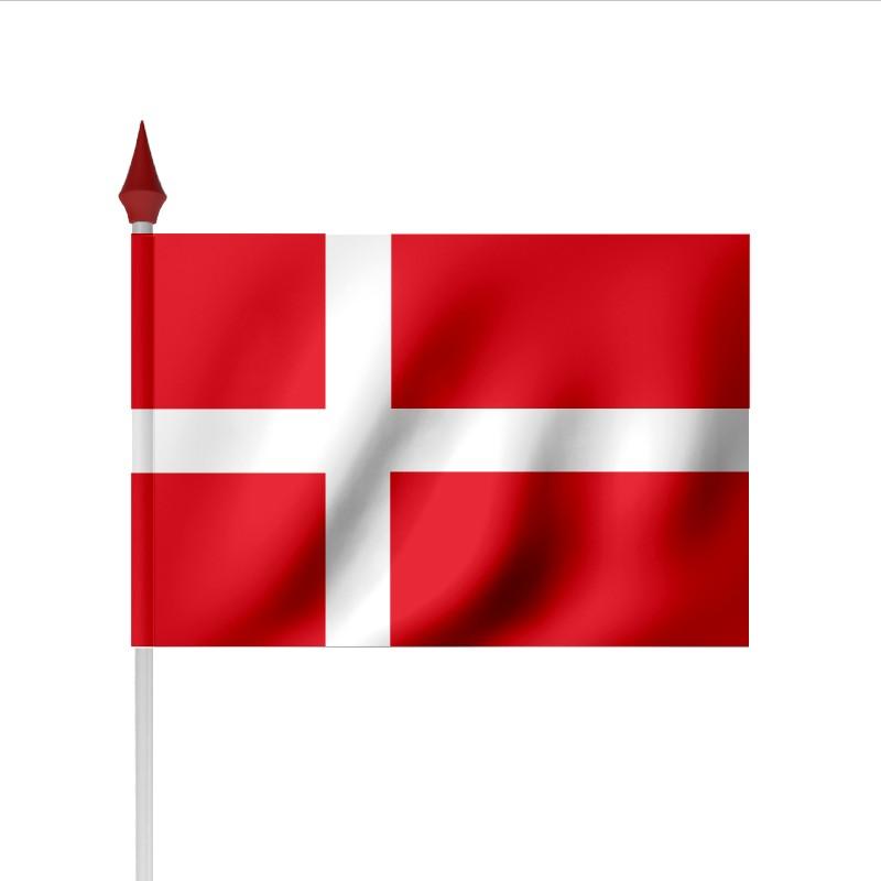 drapeau  u00e0 agiter danemark par sachet de 100
