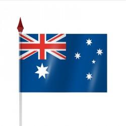 Drapeau à agiter AUSTRALIE par sachet de 10