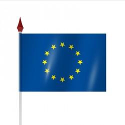 Drapeau à agiter pays CEE par Sachet de 100