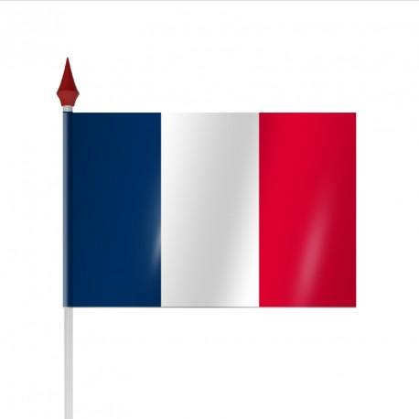 Drapeau à agiter France par Sachet de 10 ex