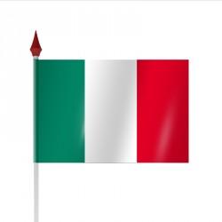 Drapeau à agiter ITALIE par sachet de 10
