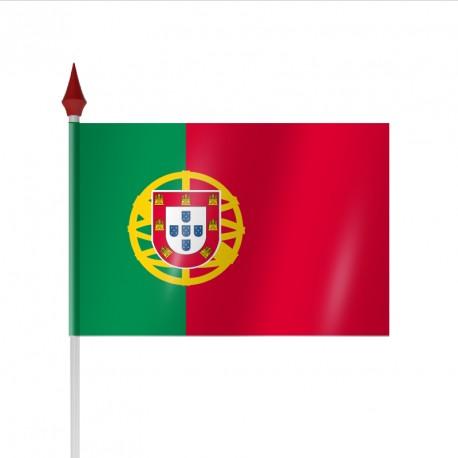 Drapeau à agiter PORTUGAL par sachet de 10