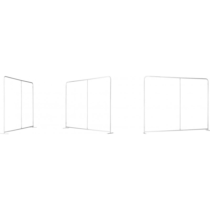 Mur d'image droit