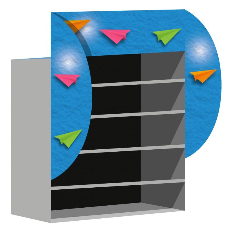 Panneau rigide en aluminium composite