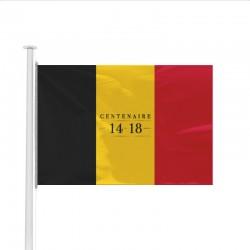 Drapeau Belgique spécial Centenaire de la Guerre