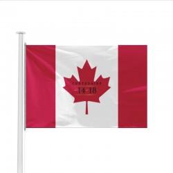 Drapeau Canada spécial Centenaire de la Guerre