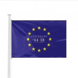 Drapeau Europe spécial Centenaire de la Guerre