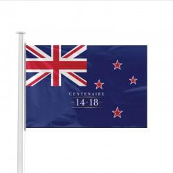 Drapeau Nouvelle Zélande spécial Centenaire de la Guerre