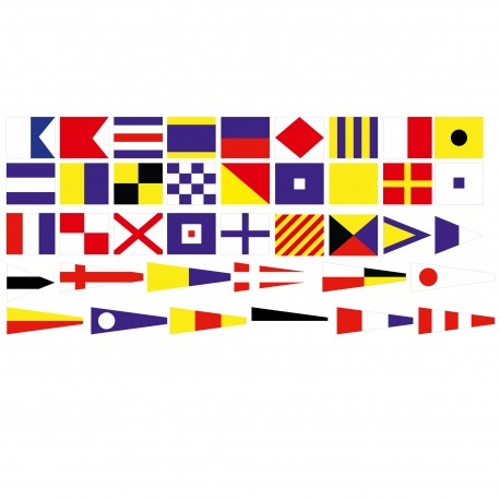 Code Maritime complet, jeu de 40 pièces